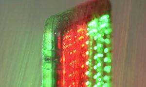 Időjárás álló LED cseretábla