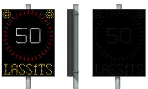 Sebességhatár jelző LED tábla