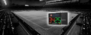 Digitális LED foci cseretábla
