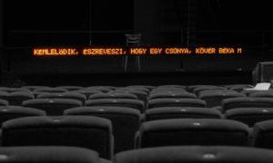 Színházi LED szinkron tolmács kijelző