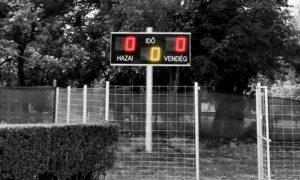 LED foci eredményjelző Kisvárda