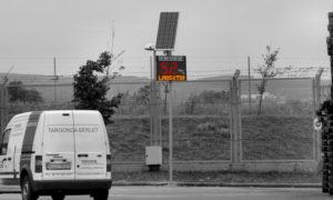 LED sebesség kijelző TESCO