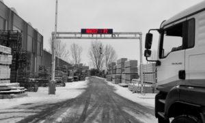 Kamionhívó LED kijelző