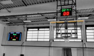 Kosárlabda eredményjelző LED tábla