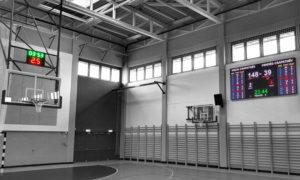 Kosárlabda ledfal eredményjelző